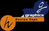 hupe-graphics Danica Hupe Logo